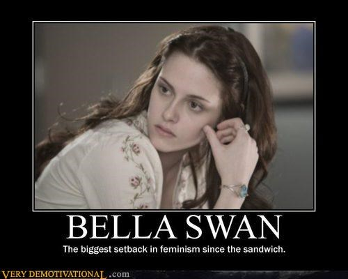 bella feminism hilarious twilight wtf - 4861996288