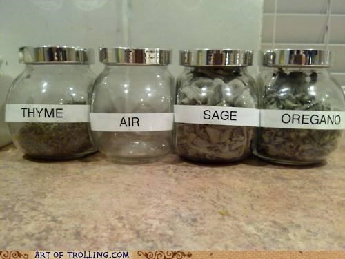 air,herbs,IRL,oregano,sage,spices,thyme