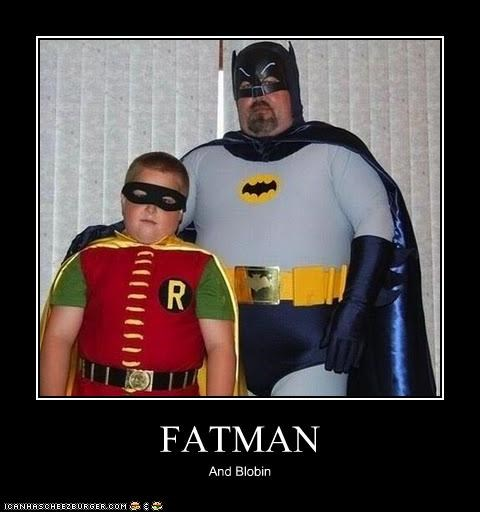 batman costume Father robin son Super-Lols - 4862059264