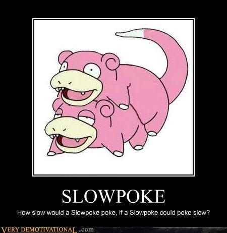 hilarious Pokémon slowpoke wtf - 4862080256