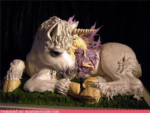 amazing cake epicute fairy unicorn - 4862536704