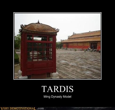 TARDIS Ming Dynasty Model