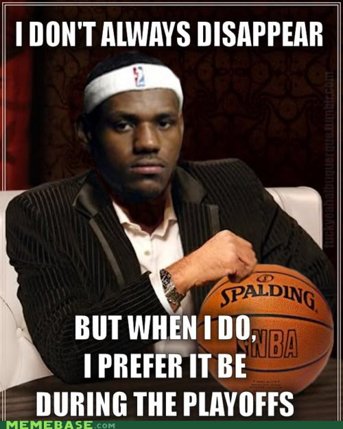 basketball Heat lebron miami mvp playoffs the most interesting man in the world - 4863292416