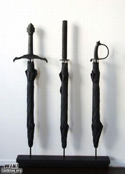 awesome design samuri sword umbrellas weapons - 4863385344