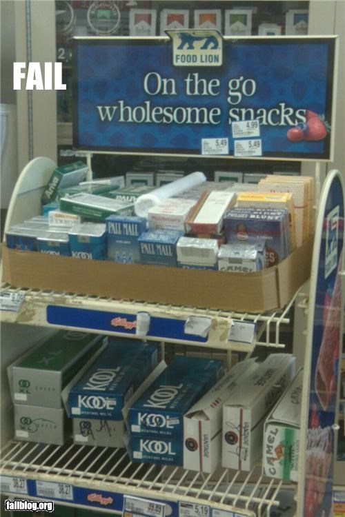 category cigarettes failboat g rated grocery store signs unhealthy - 4863669504