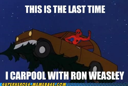 car,Harry Potter,Ron Weasley,Spider-Man,Super-Lols