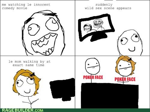 Awkward,movies,parents,Rage Comics,sexy times