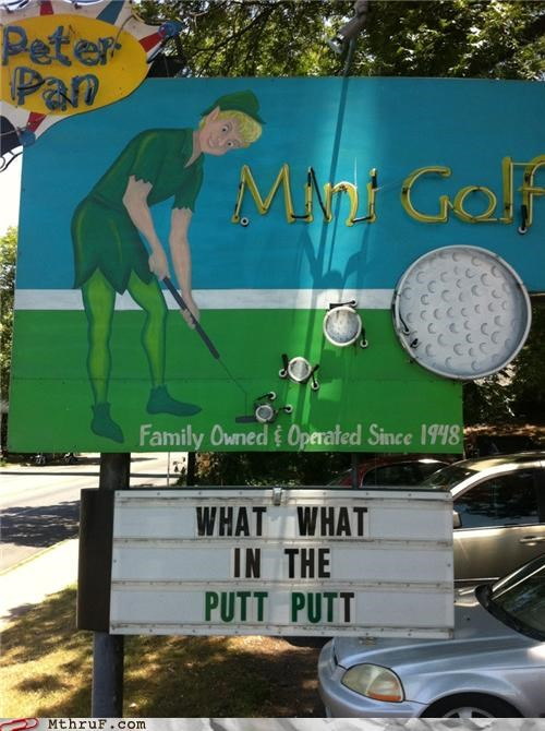 anal sex,bulletin,golf,what what in the butt