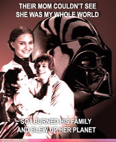 darth vader funny sci fi star wars - 4864008960
