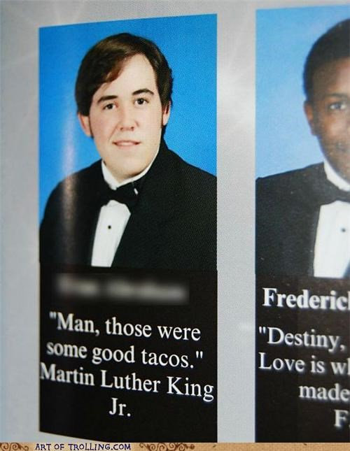 martin luther king jr misquotes Photo yearbook - 4864084224