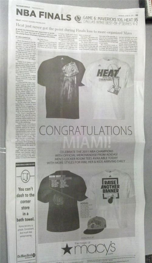 2011 NBA Finals,Dallas Mavericks,miami heat,Some Dumb Erratum,Whoopsie Daisy