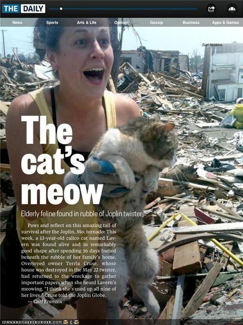 best of the week heartwarming Joplin Natural Disasters news survival tornado - 4864265216