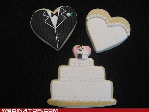 cookies,funny wedding photos,weddings