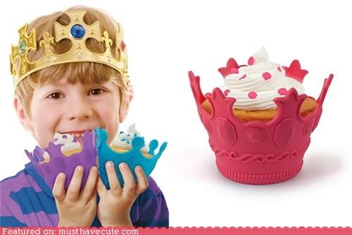 aristocakes crown cupcakes cups fancy molds - 4865106432