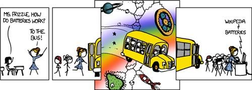 comics,magic school bus,webcomics,wikipedia,xkcd