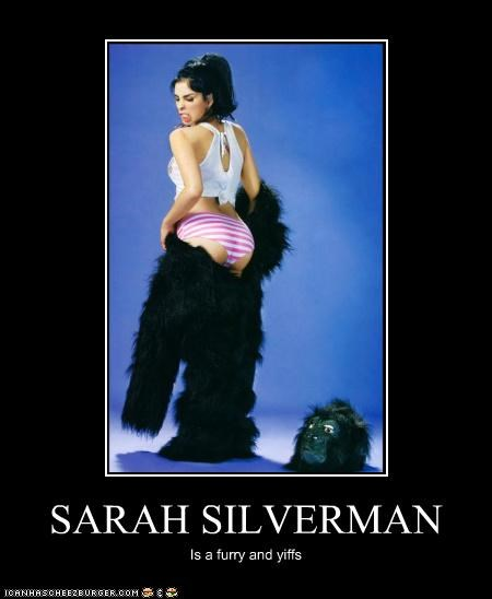 SARAH SILVERMAN Is a furry and yiffs