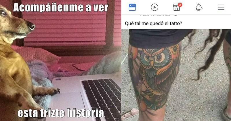 chico tatuaje pie