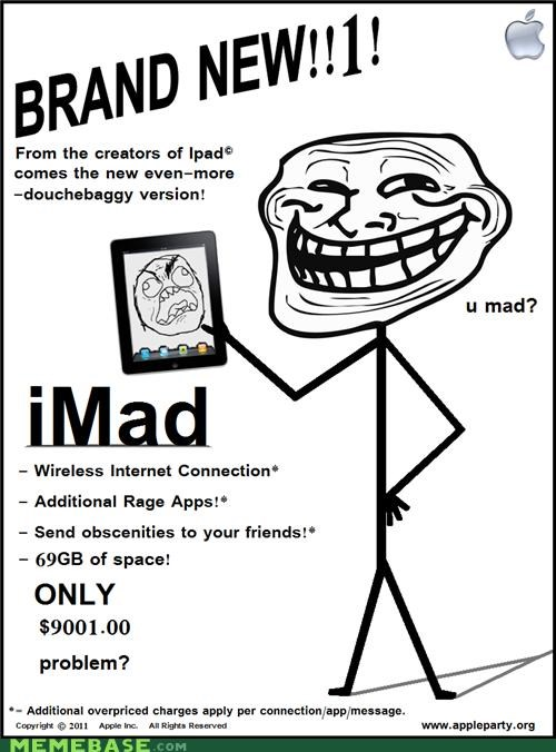 App,gigabytes,ipad,lemonparty,mad,troll face