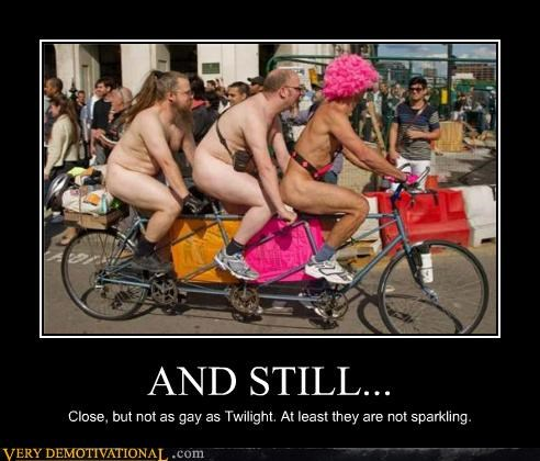 bike gay hilarious not clothed tandem twilight - 4866593024