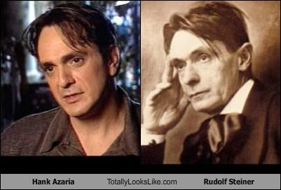actors Hank Azaria philosophers Rudolf Steiner
