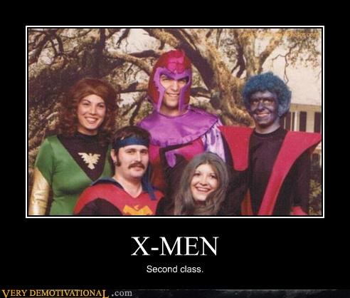 hilarious second class wtf x men - 4866743552
