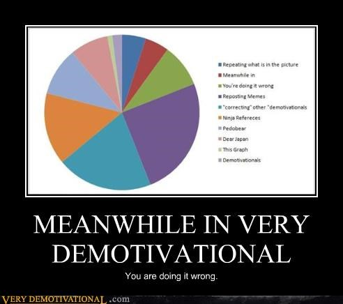 demotivational doing it wrong graph hilarious meta referential