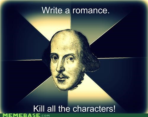 characters comedy Death Memes romance tragedy - 4866874624