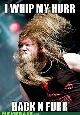 beard concert hair Music Stage whip - 4866910464