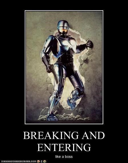 demotivational funny Movie robocop - 4866915072