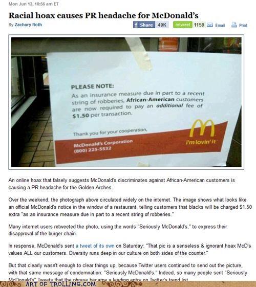 IRL,McDonald's,racism,robberies