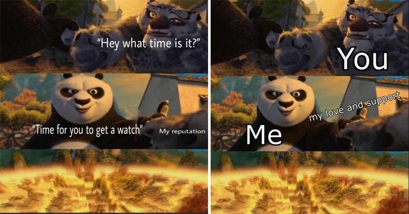 Funny and dank kung fu panda memes.