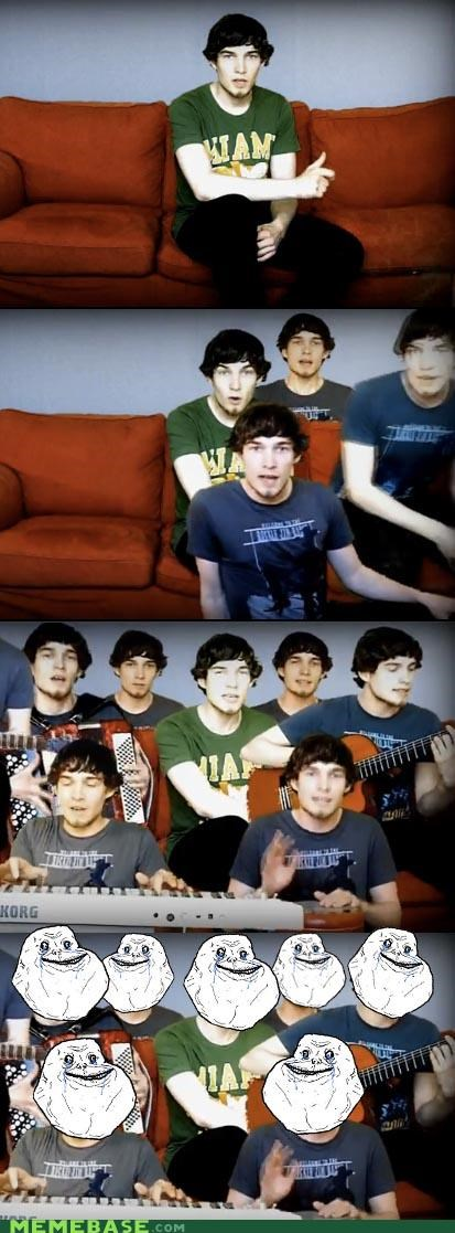 band forever alone intertube queen Video youtube - 4867243520