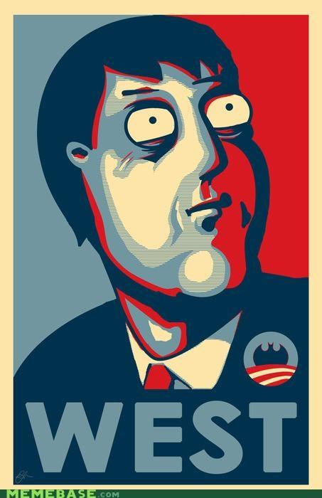 Adam West Awesome Art batman family guy mayor obama - 4867263488