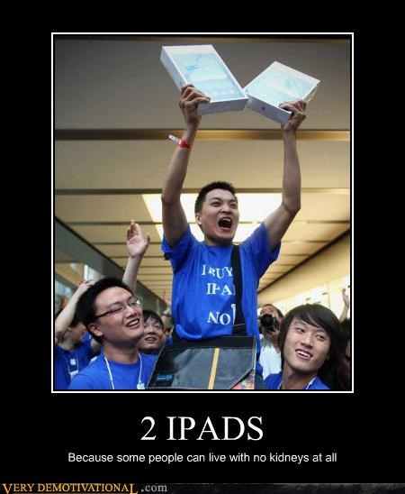2 excited hilarious ipads kidney - 4867286528