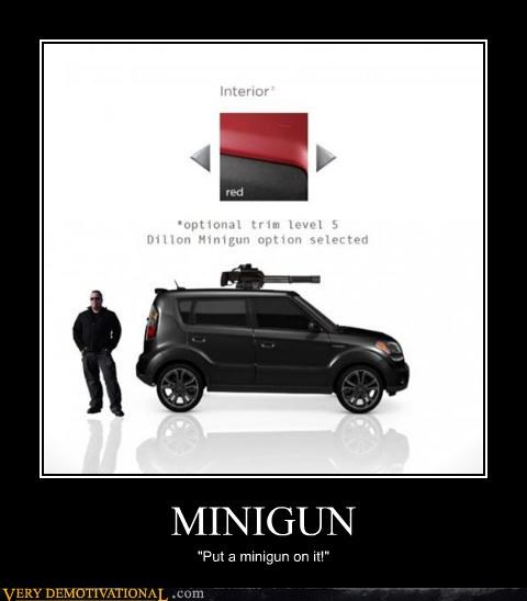 awesome,car,Minigun,Pure Awesome