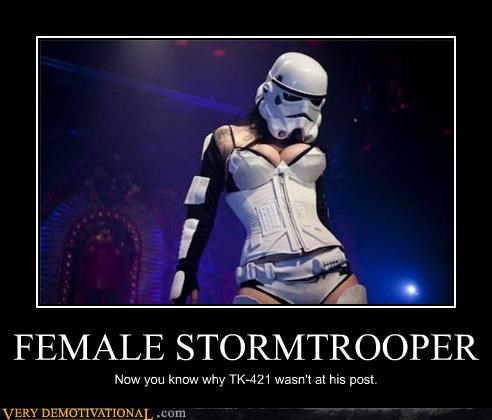 burlesque Hall of Fame hilarious Sexy Ladies stormtrooper tk-421 - 4867505664