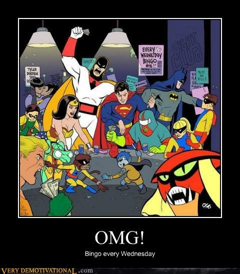 art,bingo,hilarious,spaceghost,superfriends,wtf