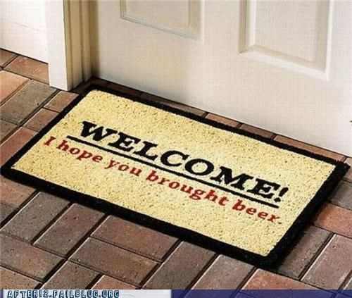 beer,byob,doormat