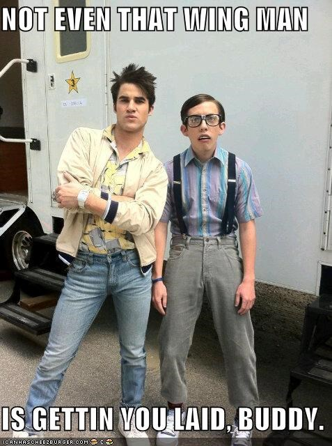 actor celeb Darren Criss funny kevin mchale - 4867742976