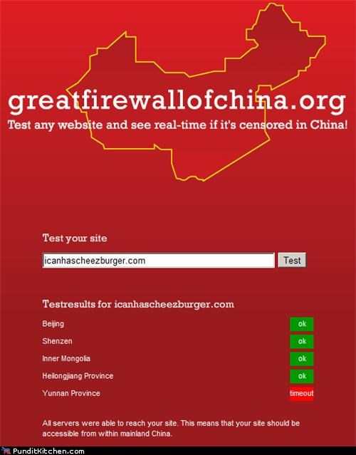 cheezburger China great firewall icanhascheezburger.com political pictures - 4867820544