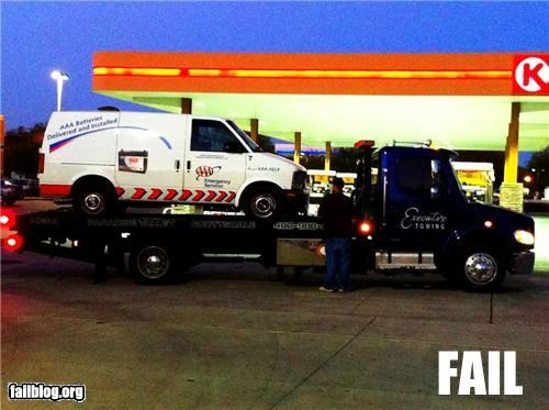 cars failboat g rated irony towing truck - 4867873024