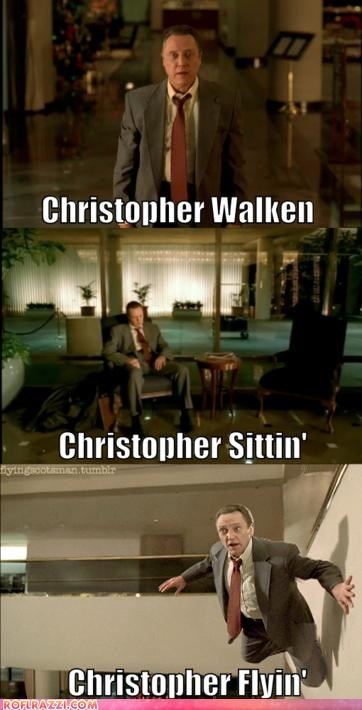 actor,celeb,christopher walken,funny,Hall of Fame