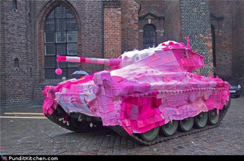 crafts,grandma,pink,political pictures,tanks,war