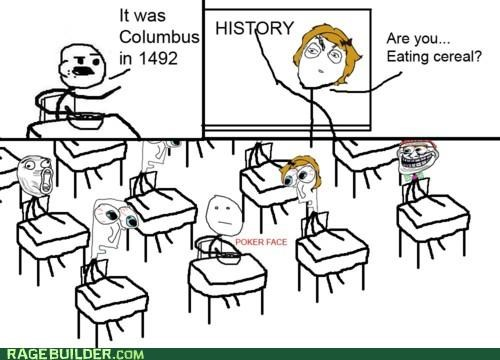 cereal guy class Rage Comics weird - 4868083200