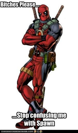 confusion deadpool Spawn - 4868678912