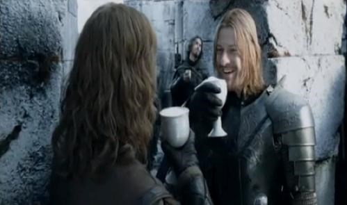 barfight Boromir Like a Boss Lord of the Rings movies sean bean stabbing