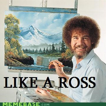 Like a Boss paint ross trees - 4868987648