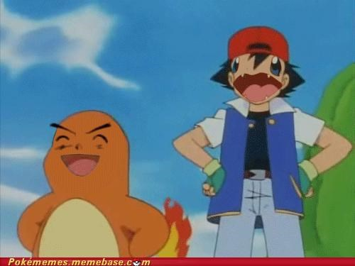 ash ketchum,charmander,face swap