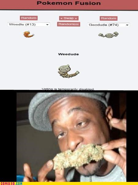 fusion,marijuana,Pokémon,the internets,weed