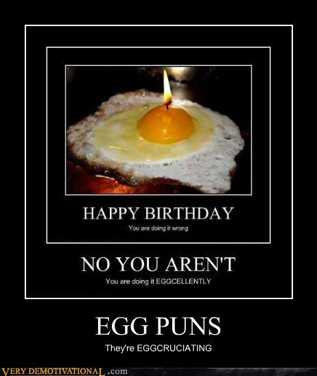 candle eggs hilarious puns wtf - 4871245824